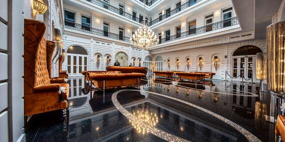 Luxusný hotel Prestige**** v centre Budapešti s michelinskou reštauráciou a neobmedzeným wellness/Maďarsko - Budapešť