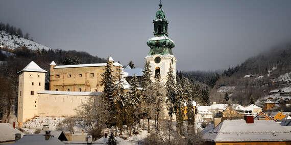 Oddych v Banskej Štiavnici v penzióne Príjemný oddych s raňajkami / Banská Štiavnica