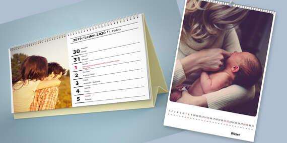 Stolové a nástenné kalendáre z vašich fotografií na rok 2021 (v slovenčine)/Slovensko