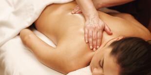 Aróma relaxačná masáž teplým olejom