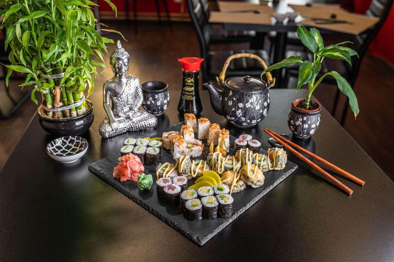 Fugu Sushi – 14 alebo 34 kúskov v novej prevádzke v Starom Meste