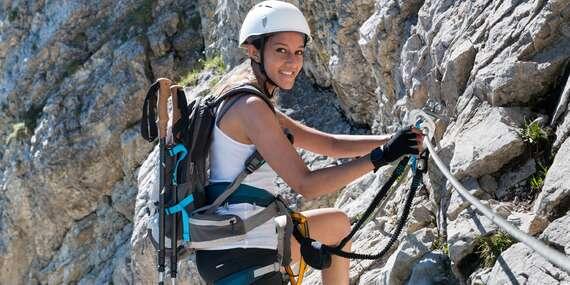 Adrenalinový jednodenní kurz lezení ve Slaném včetně pohybu po zajištěných cestách se zkušeným instruktorem/ČR