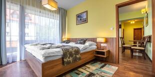 Štýlové izby apartmánového domu Hrebienok Resorte v Starom Smokovci