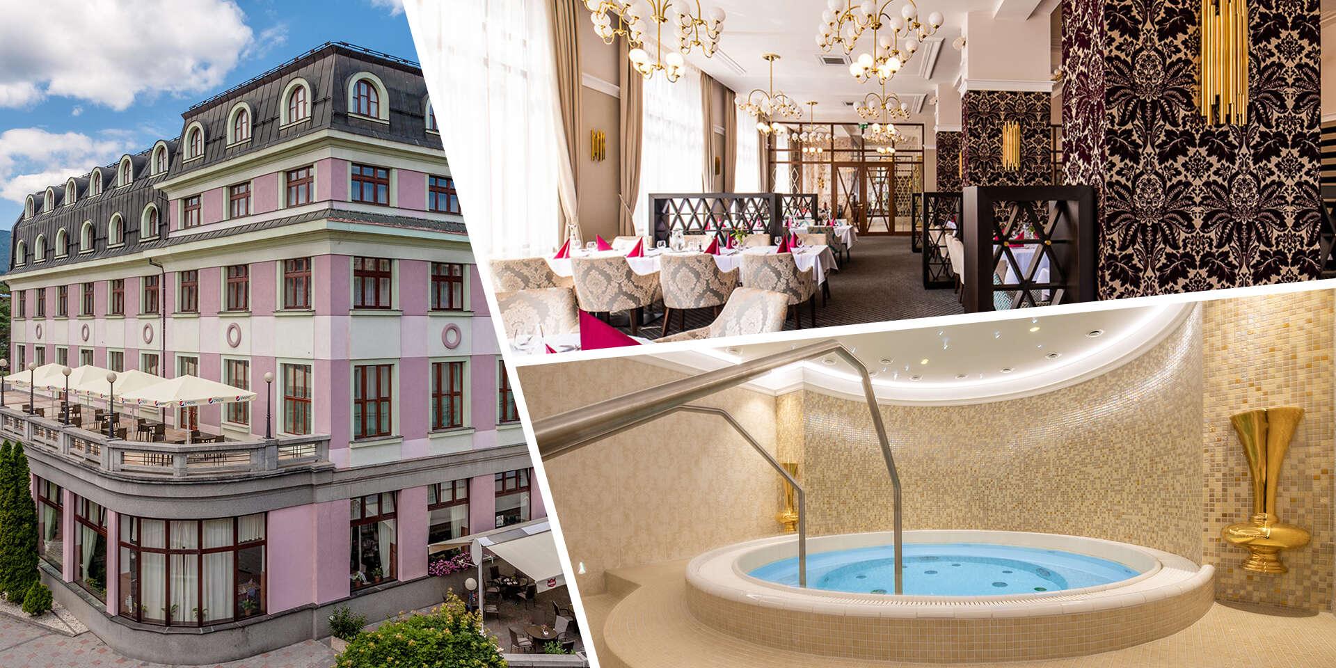 First moment: Leto s exkluzívnym wellness a polpenziou v historickom hoteli KULTÚRA*** s výbornými možnosťami aktivít na Liptove