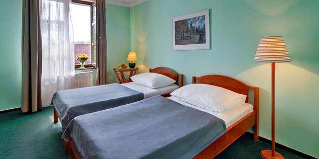 Pobyt už od 1 noci v tichej časti Prahy v hoteli Na Zámečku**** hneď pri zastávke MHD.
