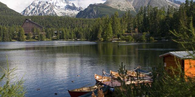 Dovolenka len 50 m od Studeného potoka v lesnom prostredí Tatier s raňajkami.