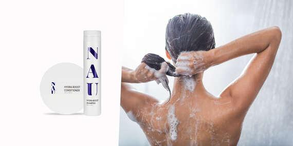 Hydratačný balíček - šampón a kondicionér značky NAU cosmetics/Slovensko