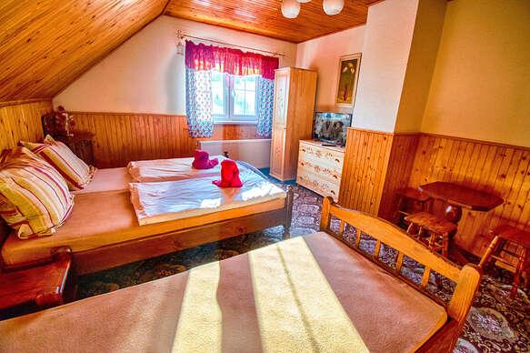 Krása Belianskych Tatier s ubytovaním a množstvom zliav pre 4 - 5 osôb v penzióne Šilon.