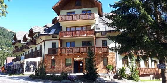 Rodinný pobyt na Donovaloch v Apartmánovom dome Kamzík/Donovaly