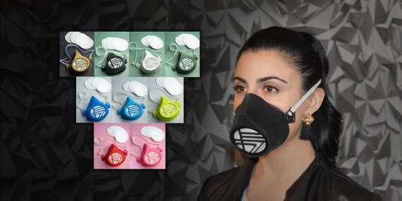 2 + 1 ZDARMA: Certifikované slovenské masky na viacnásobné použitie s vymeniteľnými filtrami – myslite na svojich blízkych, chráňte seba i okolie/Slovensko