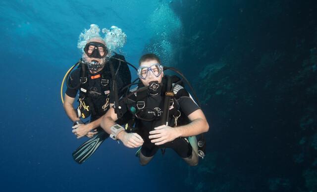 Kurz potápania v centre Academia Aquatica.