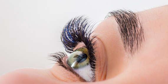 Semipermanentné predlžovanie rias - výrazné oči a prirodzene zvodný pohľad alebo darčeková poukážka/Bratislava – Staré Mesto