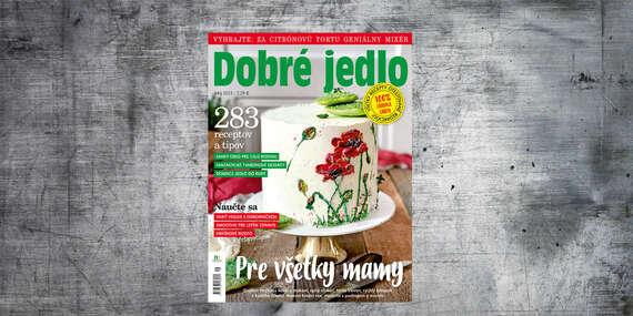 Ročné predplatné mesačníka DOBRÉ JEDLO/Slovensko