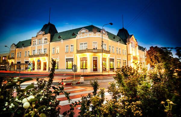 15% Relax s polopenzí v historickém hotelu Lev *** s…