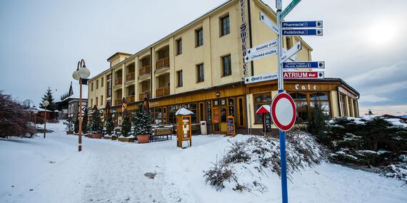Zimní pobyt v hotelu Smokovec *** s přilehlými lyžařskými středisky, polopenzí a wellness, platí i během jarních prázdnin / Slovensko - Vysoké Tatry - Starý Smokovec