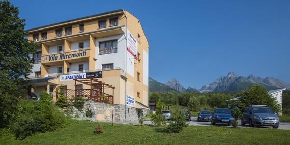 Miramonti Apartmány / Vysoké Tatry