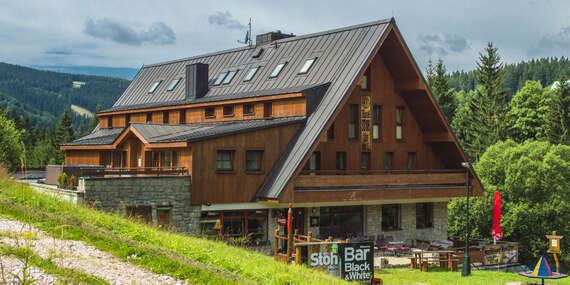 Oblíbený Hotel Stoh***+ ve Špindlerově Mlýně s polopenzí a vstupem do Vodního ráje/Krkonoše - Špindlerův mlýn