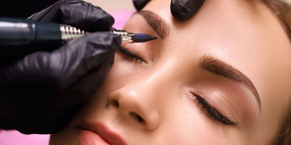 Permanentný makeup - tieňované obočie alebo krásne pery/Nitra - Zobor