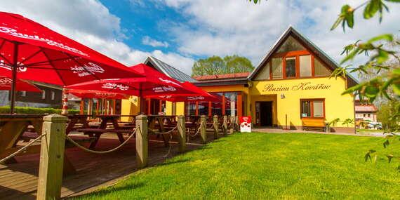 Relax na Lipně pro dva v Penzionu Kovářov s polopenzí, saunou a whirpool / Lipno - Frymburk