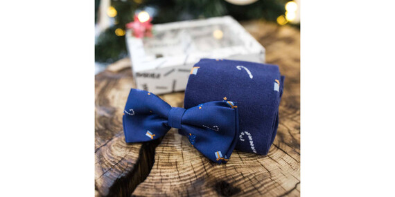 Set: Bláznivé ponožky Crazysocks + kravata alebo motýlik/Slovensko