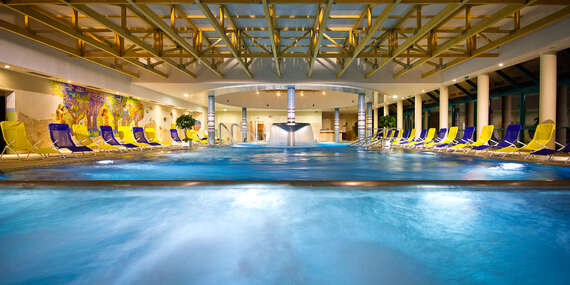 SUPER CENY 2021 v Bardejovských Kúpeľoch s plnou penziou, wellness a procedúrami: levanduľový kúpeľ, masáž, soľná jaskyňa, pitná kúra/Bardejovské Kúpele
