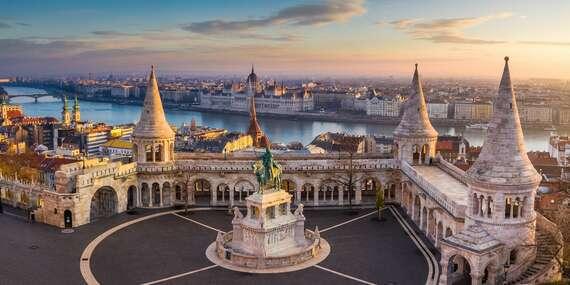 Hotel Gloria*** Budapest City Center s raňajkami, pálenkou na privítanie v deň príchodu/Maďarsko - Budapešť