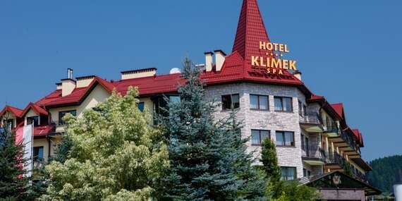 Dovolenka v hoteli Klimek**** len 5 km od hraníc, s polpenziou a voľným vstupom do aquaparku/Poľsko - Muszyna