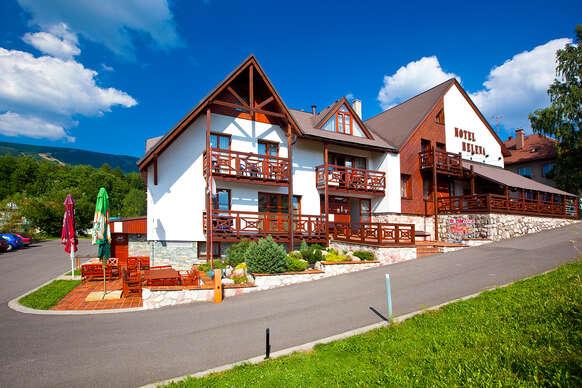 39% Relax i aktivní odpočinek v krkonošském hotelu…