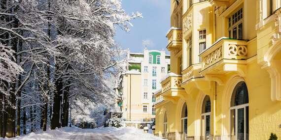 Až 4denní lázeňský s polopenzí a možností procedur v Hotelu Pelikán pro dva s platností do dubna 2021 / Mariánské Lázně