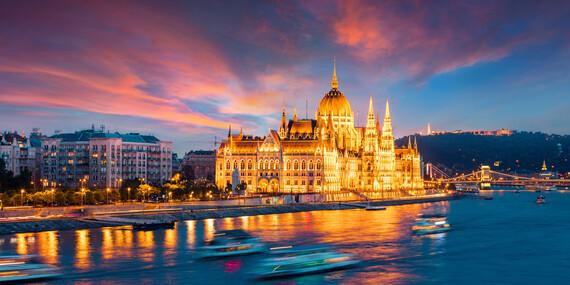 Centrum Budapešti pohodlne - s ubytovaním a raňajkami v City Hoteli Unio***/Maďarsko - Budapešť