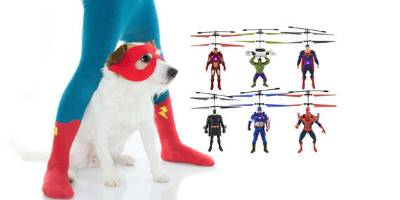 Lietajúci super hrdinovia Avengers - Superman, Batman, Hulk, Spiderman, Iron man, Captain America/Slovensko