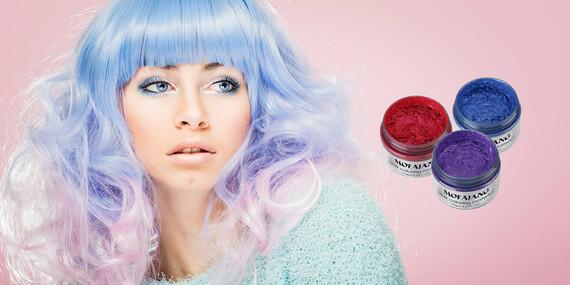 Farebný vosk na vlasy – svetová novinka už aj na Slovensku/Slovensko