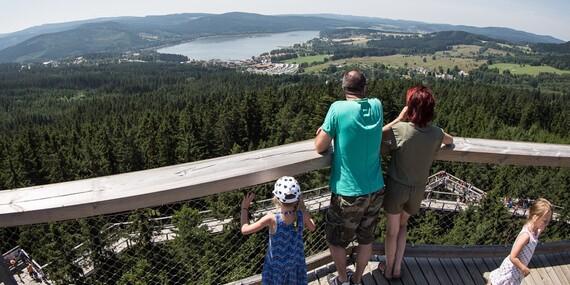 Jarní radovánky u Lipenské přehrady s ubytováním v Jezerním Penzionu s polopenzí/Lipno - Horní Planá