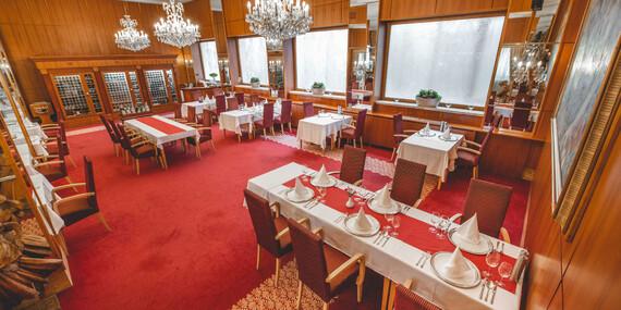 Degustačné 7-chodové menu v reštaurácii Hotela Devín**** inšpirované maďarskou kuchyňou/Bratislava – Staré Mesto