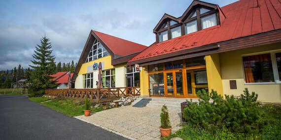 Rodinný hotel Rysy *** ve Vysokých Tatrách s polopenzí, wellness a s jedním dítětem do 6 let ceně / Vysoké Tatry - Tatranská Štrba