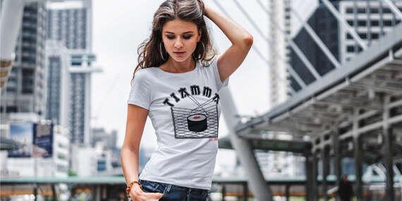 Prémiové tričká zo 100 % bavlny dizajnované na Slovensku/Slovensko