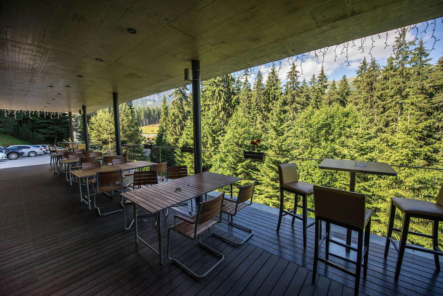 Relax při panoramatickém výhledu na Jasnou s wellness v hotelu Ostredok ***