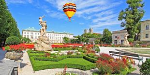 Krásne Mirabelline záhrady sú len 1 100 m od hotela Wolfgang´s