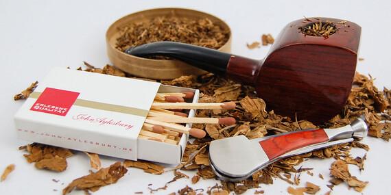 Výnimočný pánsky fajkový set alebo shisha pre dokonalý pôžitok/Slovensko