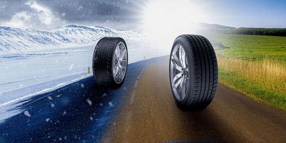 Kompletné prezutie pneumatík alebo prehodenie kolies na diskoch s vyvážením, aj s možnosťou pick-up servisu/Bratislava - Podunajské Biskupice