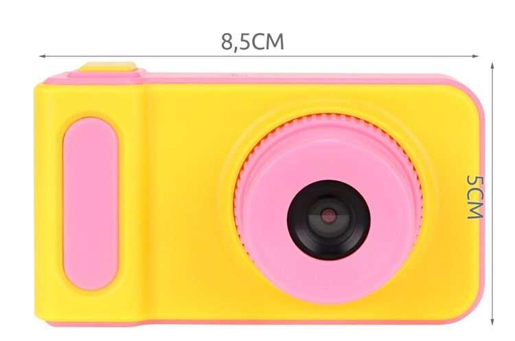 Veselý detský digitálny fotoaparát