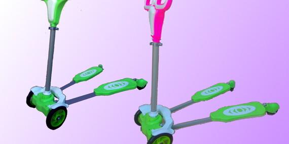 Kolobežka X-scooter, veľmi ľahko zvládnuteľná pre deti/Slovensko