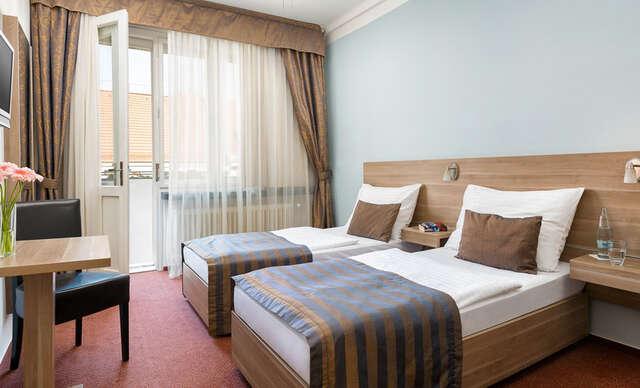 Štvorhviezdičkový hotel Meda**** v srdci Prahy len pár minút pešo od hradu.