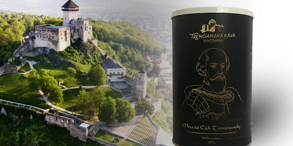 Balíček čerstvo praženej kávy z trenčianskej Pražiarničky - voňavý darček pre kávičkárov/Slovensko