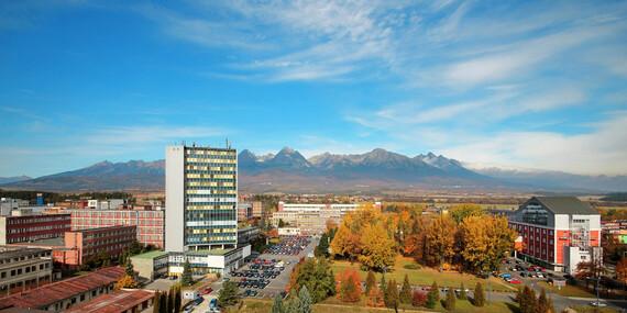 Pobyt pre rodinu alebo pár v apartmánoch s wellness a výhľadom na panorámu Tatier / Vysoké Tatry - Svit