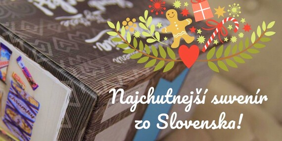 Tasty Slovakia box - najchutnejší suvenír zo Slovenska/Slovensko