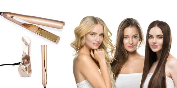 Žehlička na vyrovnávanie a vlnkovanie vlasov TWISTLINE/Slovensko