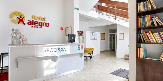 Penzión Alegro v najobľúbenejšom kúpeľnom meste Piešťany s plnou penziou a procedúrami/Piešťany