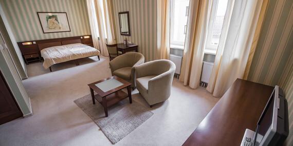 Relax a regenerácia s plnou penziou, wellness a procedúrami v hoteli Sandor Pavillon**** pre náročných/Piešťany