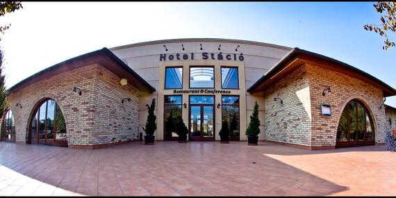 Štýlový maďarský Airport Hotel Stáció**** s neobmedzeným wellness a atmosférou Toskánska/Maďarsko - Budapešť